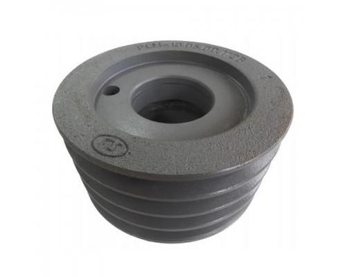 10.05.00.112В - Шкив натяжной привода гст 4-х ручьевой d160 мм