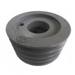 Шкив натяжной привода гст 4-х ручьевой d160 мм