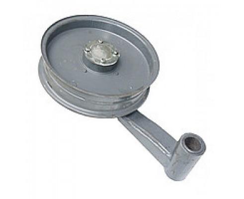 54-0-124-1Б - Шкив натяжного устройства с рычагом
