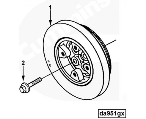 Гаситель крутильных колебаний - 3925567