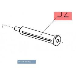 Ось механизма привода молотилки