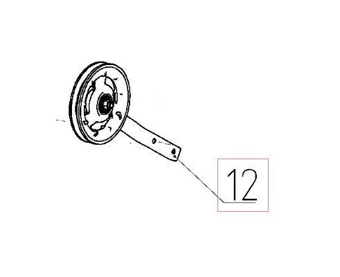 145.30.00.200 - Ролик натяжной контрпривода вентилятора