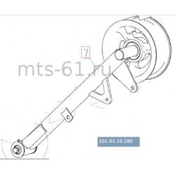 Шкив механизма натяжения привода молотилки