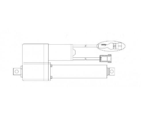 Электромеханизм подбарабанья МК150-06 - КЗК-10-0701400