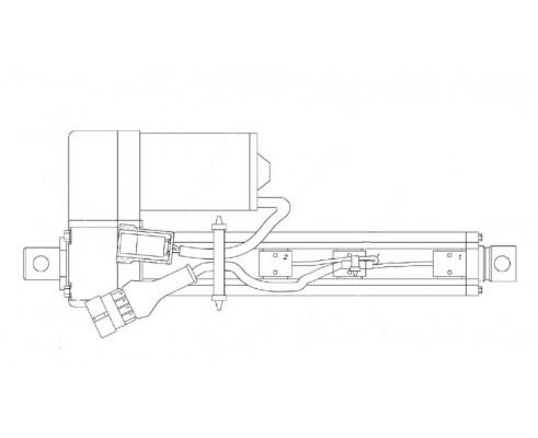 Электромеханизм бункера - КЗК-1420-0701090