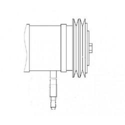 Установка стеклоочистителя - КЗК-12-0120810