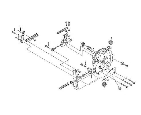 Редуктор бортовой левый - УЭС 0107150-03