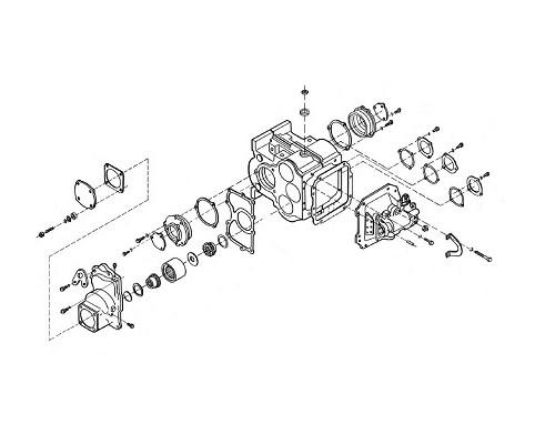 Коробка диапазонов - 3518020-46150