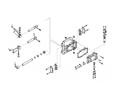 Механизм переключения диапазон - 3518020-46160
