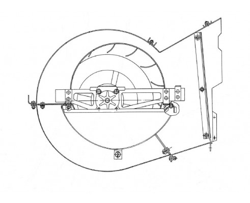 Вентилятор - КЗК 0217000Б-01