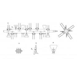 Ротор измельчителя КЗК0290140А - КЗК 0290140А_У