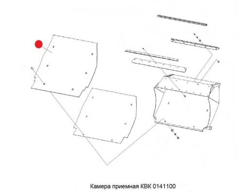 Лист - КВК 0141434