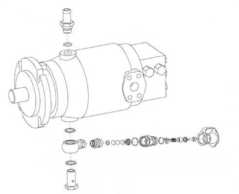 Гидромотор КЗК-12-0601230 в уп - КЗК-12-0601230_У