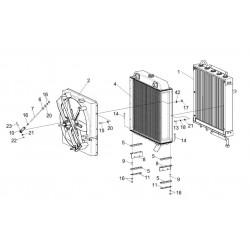 Блок радиаторов - КГС 0116450А