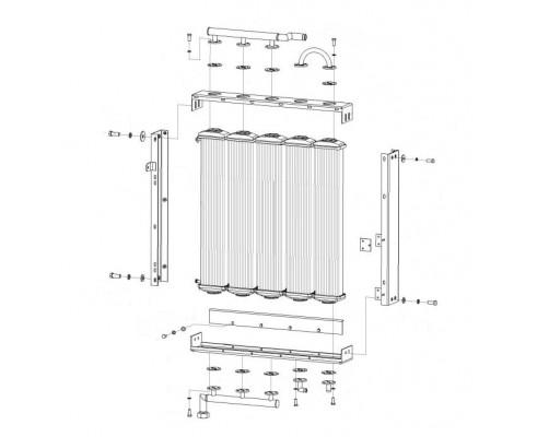 Радиатор масляный - КГС 0116020