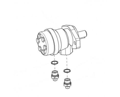 Гидромотор силосопровода-КВС-1-0602970