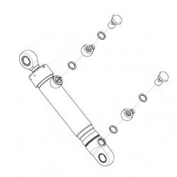 Гидроцилиндр-КВС-2-0602500