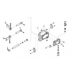 Механизм переключения диапазонов-3518020-46160