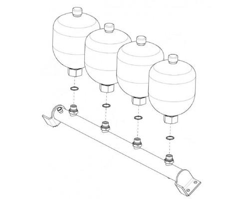 Блок пневмогидроаккумуляторов-КВС-1-0602540