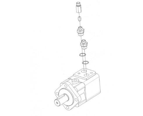 Гидромотор заточного устройства-КВС-1-0602650-01