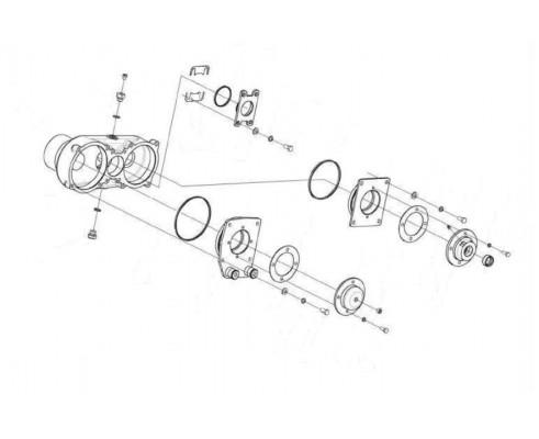 Редуктор цилиндрический -ПКК 0118000Б-01