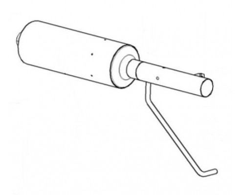 Глушитель - КЗК-12-3-0126530