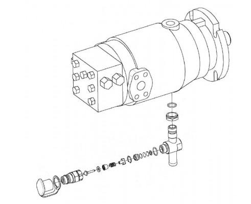 Гидромотор - КЗК-12-0601500-01