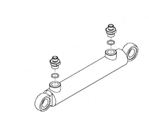 Гидроцилиндр - КЗК-12-0602310