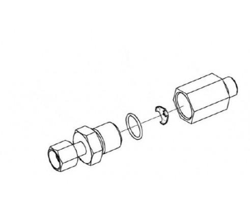 Дроссель с обратным клапаном - КЗК 0602520А