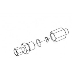Дроссель с обратным клапаном - КЗК 0602520А-01