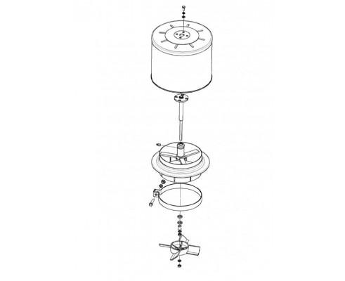 Воздухозаборник вращающийся - КЗК-12-3-0126420