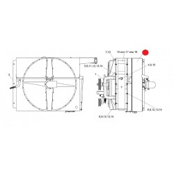 Воздухозаборник - КЗК-12-3-0112000