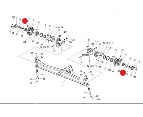 Втулка - РСМ 10.02.02.632Б