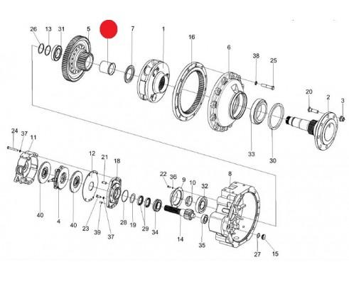 Втулка -МК-23М.03.806