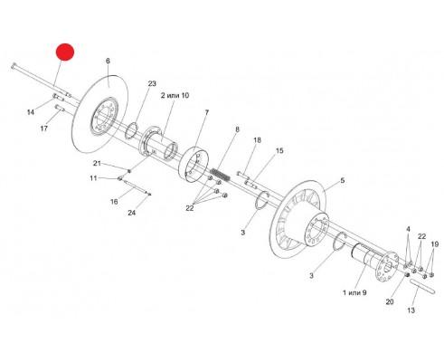 Болт -РСМ 10Б.01.15.639