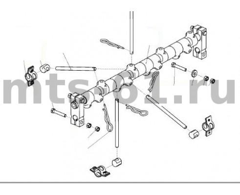 3518050-16550 - Механизм пальчиковый шнека жатки