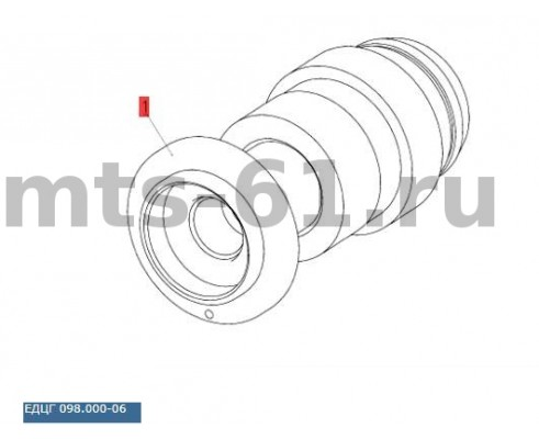 ЕДЦГ 098.000 (ГА-83000) - Гидроцилиндр