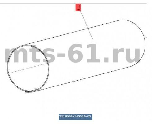 3518060-14561Б-05 - Кожух верхнего вала наклонной камеры
