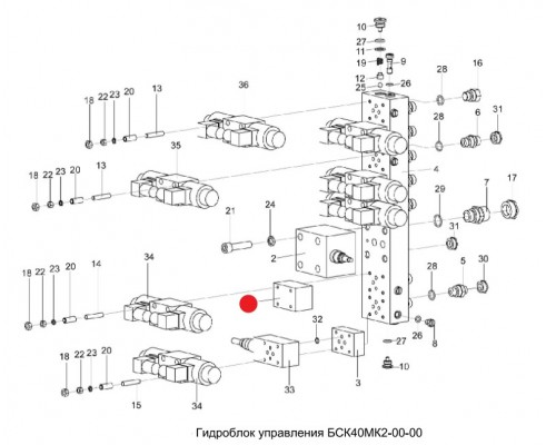 Гидрозамок - бск-40-мк2-01-00