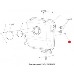 Датчик аварийной температуры жидкости - датж-04