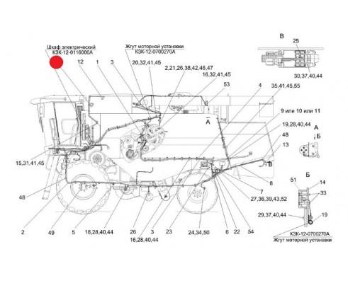 Датчик заполнения бункера - КЗ 0701600