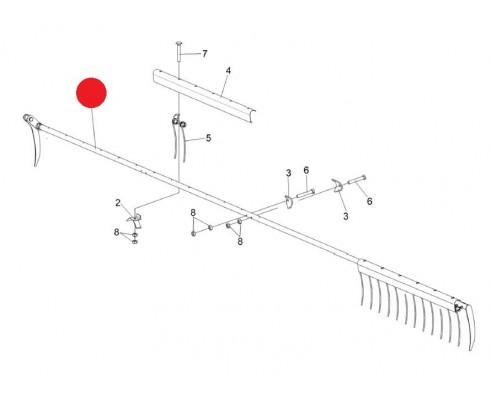 Граблина мотовила 7м ( КЗР 1573550) - КЗР 1573560