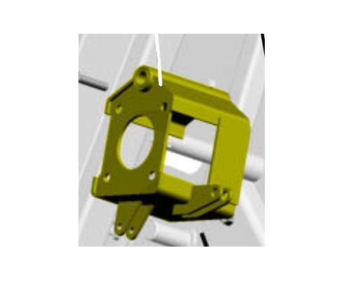 Кронштейн гидромотора реверса