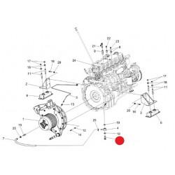 Болт поворотного угольника - УЭС-7-0400606А