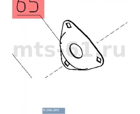 Н.166.203 - Крышка подшипника