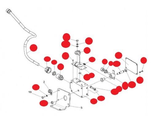Датчик камнедетектора - КВС-1-0111440