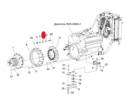 Амортизатор - 109240