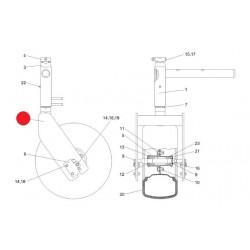 Вилка колеса - КВС-4-3920040