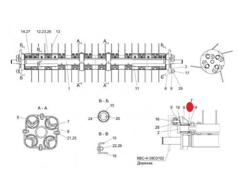 Втулка - КВС-4-3903001