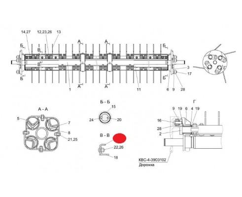 Жесткость - КВС-4-3903427А